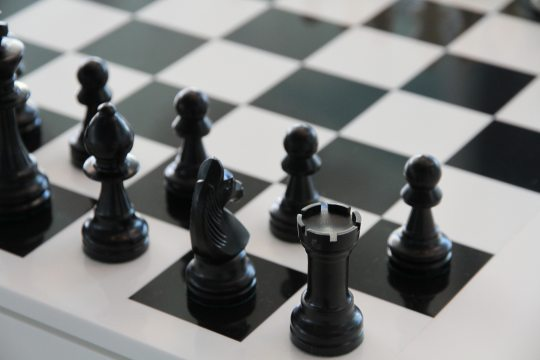 black-and-white-board-game-chess-69128